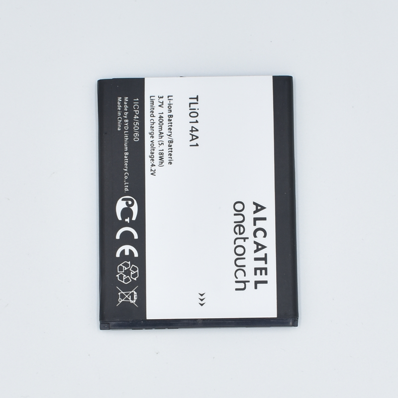 Hekiy 1400mAh Battery For Alcatel one touch Fire 4012 4012A 4012X CAB31P0000C1 / CAB31P0000C2 TLI014A1 Mobile Phone Recharge
