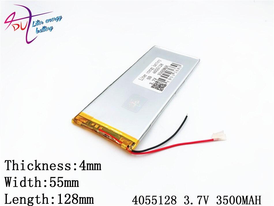 3,7 V 3500 Mah 4055128 4055130 Lithium-polymer-batterie Marke Tablet Pc Universal Batterie Digitale Batterie Unterhaltungselektronik Batterien