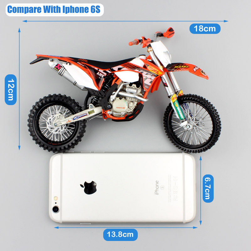 Image 3 - 1 12 scale Automaxx mini KTM 350 EXC F AMV DHL Motorcycle Diecast Model Motocross enduro motor dirt bike toys vehicle car kid's-in Diecasts & Toy Vehicles from Toys & Hobbies