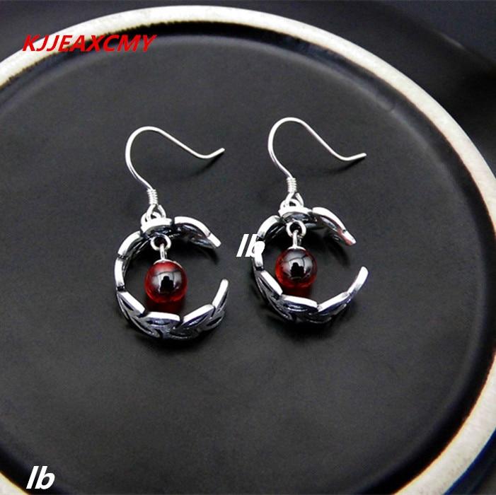KJJEAXCMY Fine jewelry 925 sterling silver agate garnet corundum green agate earrings fashion earrings wholesale kjjeaxcmy fine jewelry 925 sterling silver ring pendant garnet red corundum jewelry ladies suits