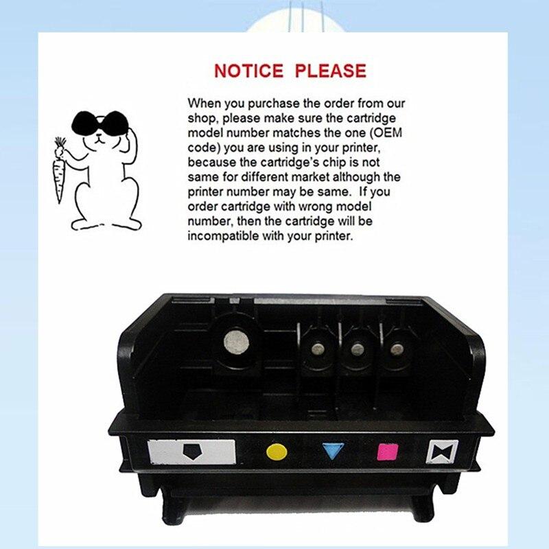 YOTAT 1pcs (BK/Y/C/M/PBK) replacement 564 printhead for HP564 for HP Photosmart D5460 D5463 D5468 C5324 C5370 C5373