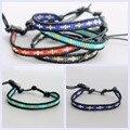 Women Bracelets Boho Bracelet Men Jewelry Femme Bohemian Bijoux Handmade freedom Wrap Friendship Seed Beaded Popular JWD130