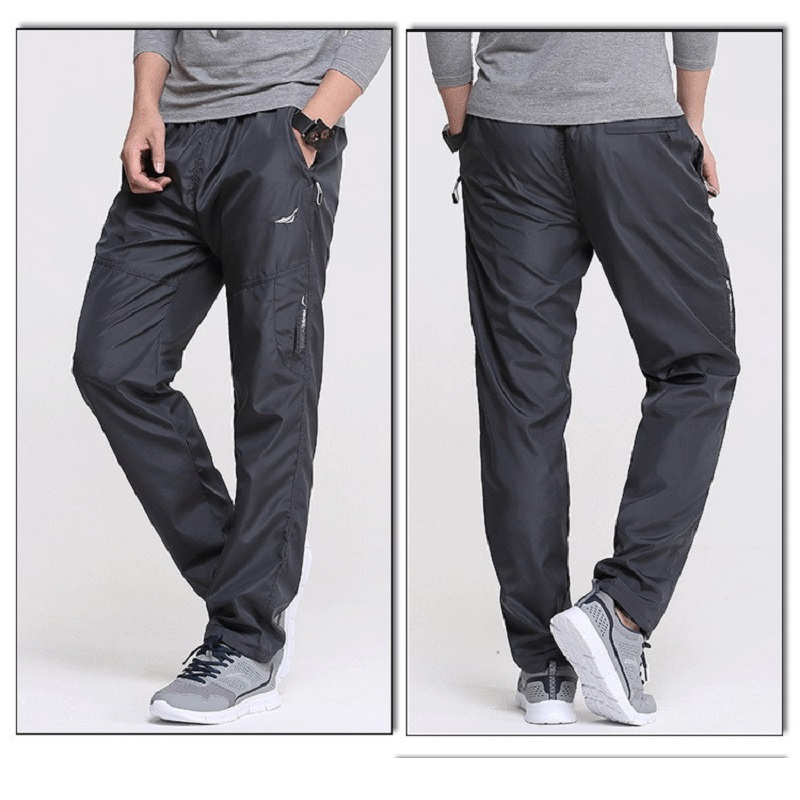 Grandwish Quick Dry Pants Plus Size Men Straight Trousers