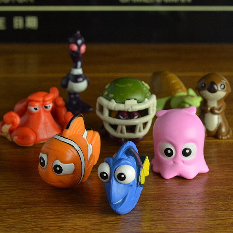 For finding Nemo 2 dolly clown fish Nemo Toy Doll Set 8 decoration ...