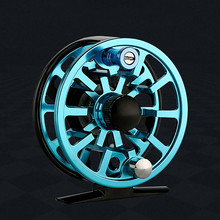 Fly Reel 3/4/5/6/7/8WF Large Arbor Blue/Black/Green Aluminum Fly Fishing Reel  Fly Fishing Reel CNC Machine Aluminum Fly Reels туника fly fly mp002xw13q9g