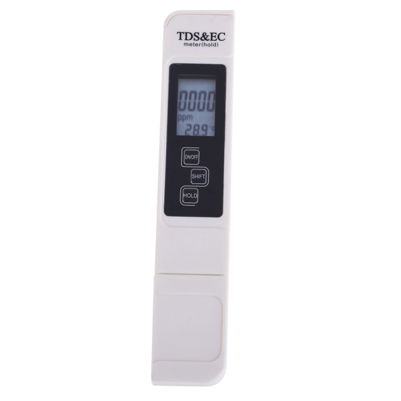 Professional Pen Type Digital TDS EC Tester Water Quality Tool 0-5000ppm tds & 0-9990us/cm Conductivity Meter With Temperature