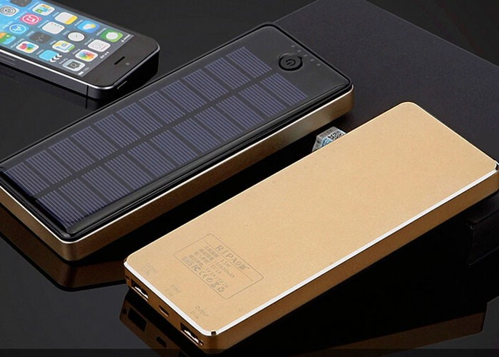 solar panel power bank 20000 mah 10