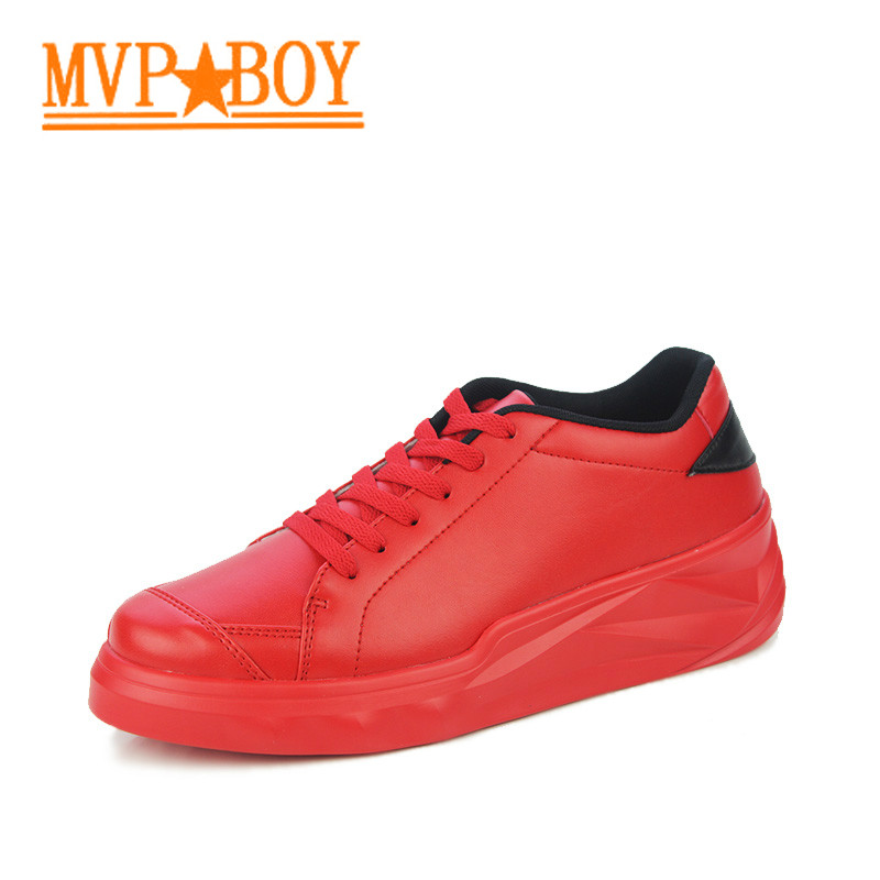 Mvp Boy Handmade Leather Shoes Wild shoes stan shoes ultra sport skateboard zx flux exercito chuteira chaussure homme de marque