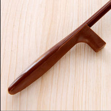 1 PCS New 30cm Plastic Handle Hanging Shoe Horn Durable Handle Shoehorn Accessories Shoe Horns Aid Stick Remover Tool