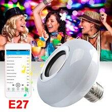 2019 RGB LED Music Bulb Portable Home Loudspeaker for Lamp Drop Shipping