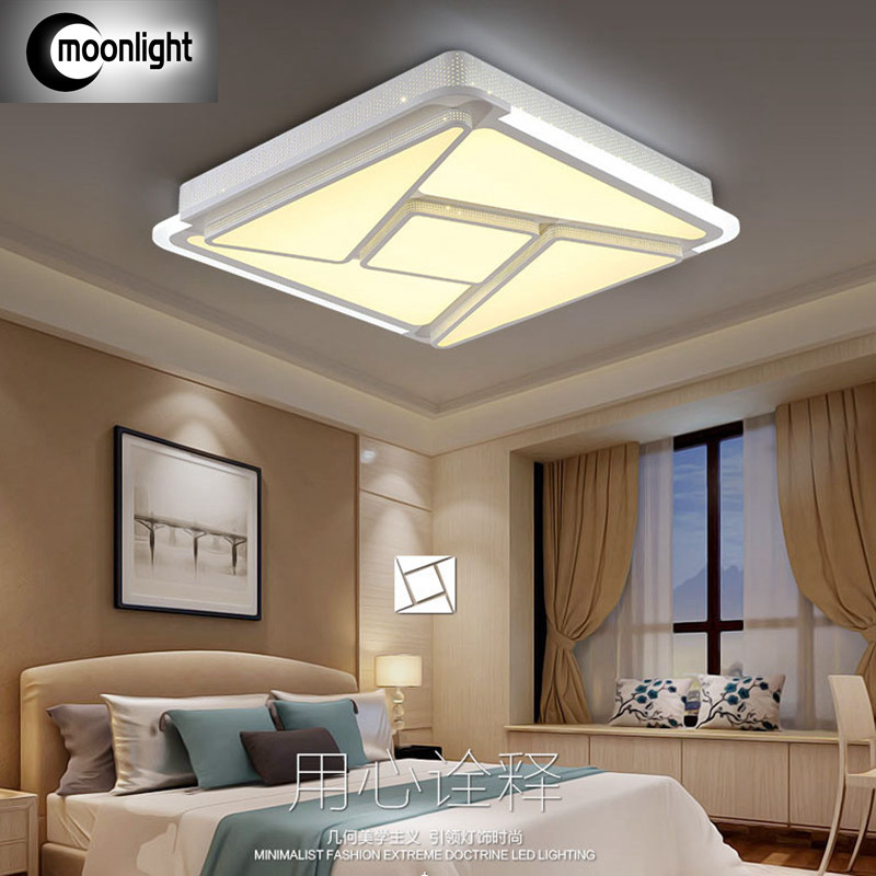 Indirect Lighting Techniques And Ideas For Bedroom Living: Modern Minimalist LED Living Room Ceiling Warm Atmosphere