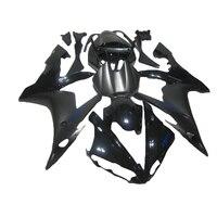 High Quality ABS Fairings For 04 06 Matte Black YAMAHA R1 YZF R1 Fairing Kit For
