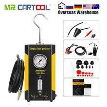 AUTOOL SDT-206, автомобильный детектор утечки дыма, дымовые машины, локатор утечки, автомобильный диагностический Дымомер выхлопной трубы