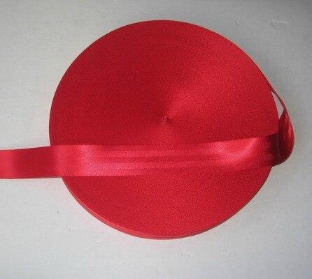 39 meter Roll Seat Belt Webbing Safety Strap Red Color 48mm Wide 5 Bars