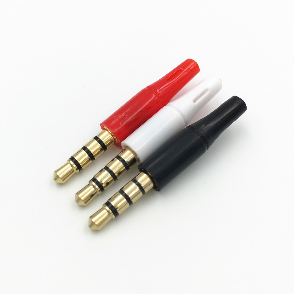 small resolution of 3 5mm 4 pole wiring wiring diagrams 3 5mm stereo audio cable to rca pinout 100pcs