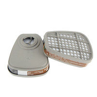 2PCS 6001 6001CN Organic Vapor Cartridges For 6200 7502 6800 Face Mask Replacement