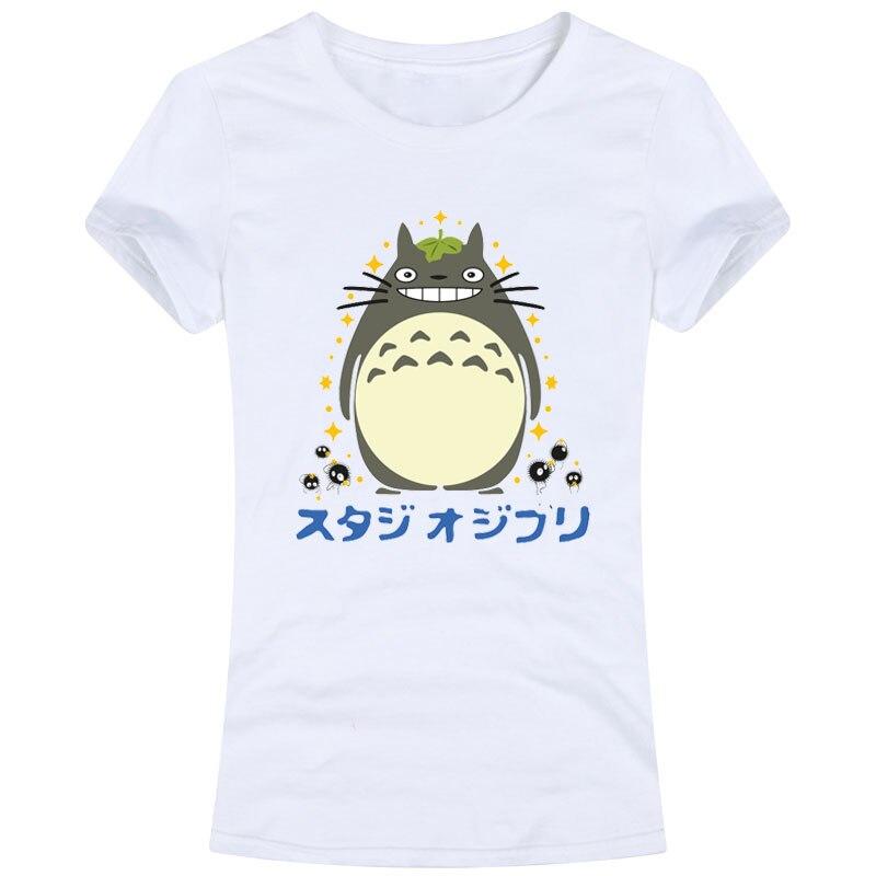 Totoro Women's Female Ladies Slim Fit Sweet Tops Tees T ...