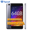 "Mi5s original xiaomi telefone celular 64 gb rom telefone snapdragon 821 quadcore 5.15 ""mi 5S smartphone sentido da impressão digital id"