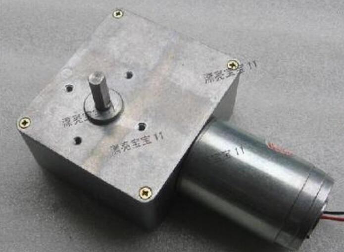 new Worm gear motor GW4468 12V 55r / min DC motors