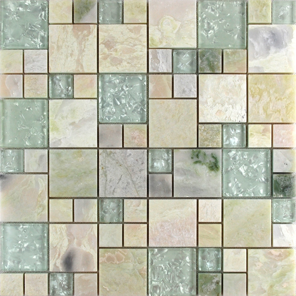 Natural Stone Glass Subway Tile Backsplash Wall Kitchen Tiles Interior Wall  Materials