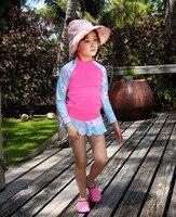 Swimsuit For Girls Child Bikini Swimwear Tankini Kids 2017 New Children Boys Cute Long Sleeve Pants