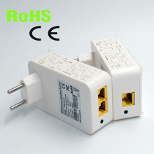 2pcs per pair Wireless WIFI homeplug Mini PLC 200M wireless powerline adapter