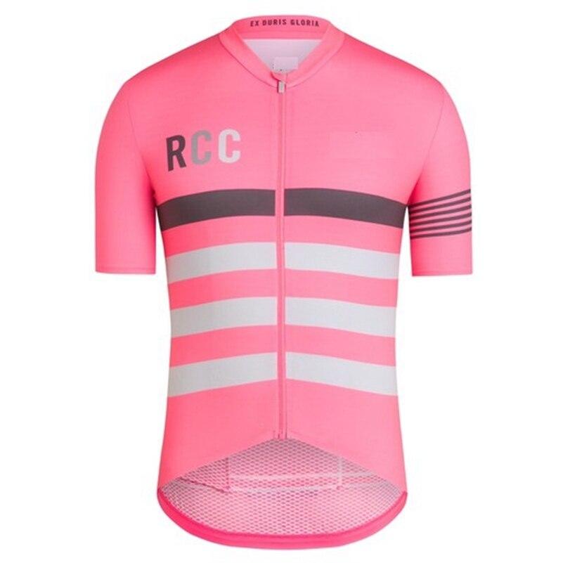 Prix pour 2017 Pro équipe rcc racing vêtements D'été à manches courtes Jersey vélo de route vélo Jersey Excellent tour sportswear ropa de ciclismo
