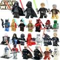 Lepin Darth vader de Star wars Jedi Knight R2D2 C-3PO K-2SO Luke Skywalker con bloques de construcción para niños juguete Espada de Luz