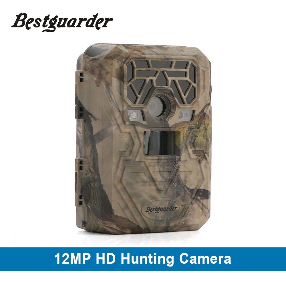Bestguarder 12mp 야생 생물 무선 트레일 카메라 940nm 블랙 보이지 않는 동물의 함정 1080P 사냥 카메라 채널
