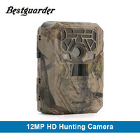 Bestguarder 12mp Wildlife wireless Trail Camera 940nm Black Led Invisible Animal Trap 1080P Hunting Camera chasse