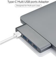 Egeedigi 4Ports Type C 3.0 Laptop docking station 4in1 USB-C to USB Card Reader Charge Adapter Flash Disk For MacBook Type C HUB