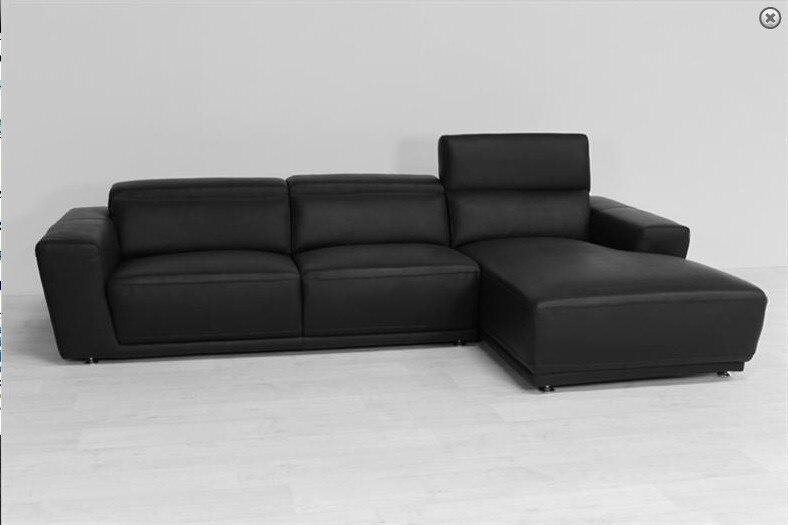 Kuh Echtes Leder Sitzgruppe Wohnzimmer Mbel Couch Sofas Sofa Schnitts Ecke Home Versand