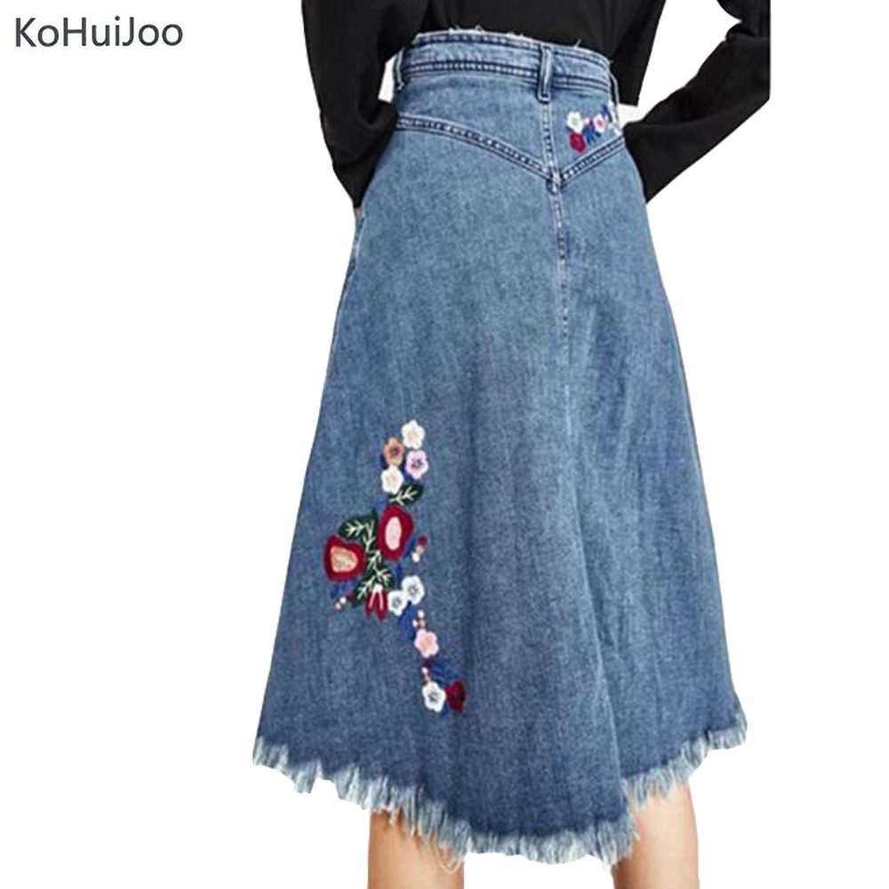 Popular Denim Skirt Knee Length-Buy Cheap Denim Skirt Knee Length ...