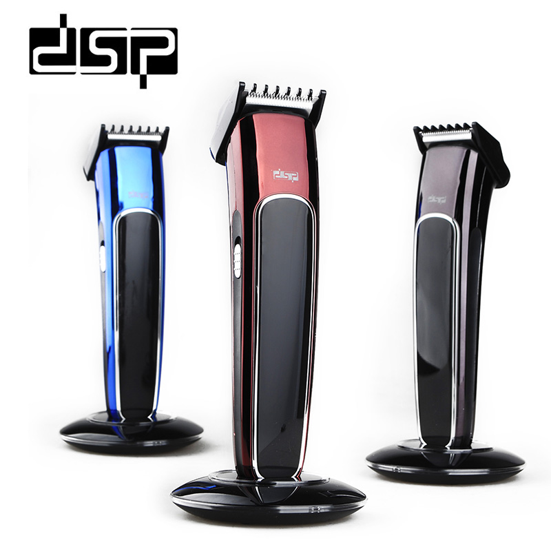 DSP Professional Rechargeable Hair Clipper Electric Beard Hair Trimmer Shaver Razor Haircut Machine Barber Tools  F-90029 kemei barber professional rechargeable hair clipper hair trimmer men electric cutter shaver hair cutting machine haircut