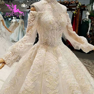 Image 2 - AIJINGYU This SeasonS Wedding Dresses Luxury Dubai Dress Hand Embroidery Designs Gowns Gown Bridal