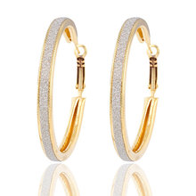 Gold Color Silver Color Big Circle Hoop Earrings For Women Large Round Loop Earring Female Ear Jewelry Accessories Pendientes(China)
