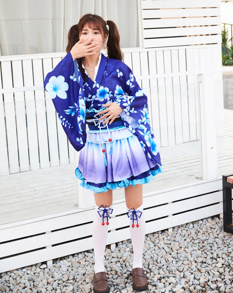 New lovelive cosplay costume Lolita Maid dress erotic jacket fancy uniform anime Cosplay dance Kimono costume outfit