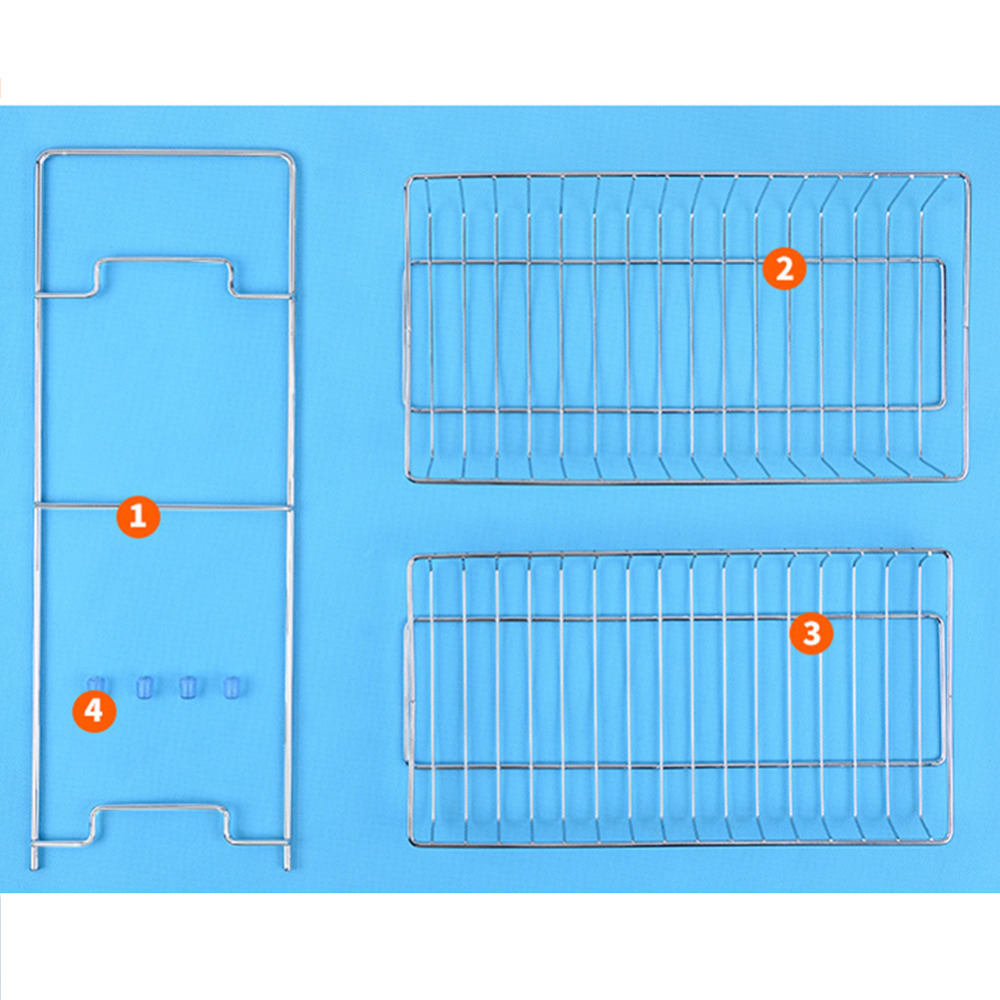 1Pc Kitchen Racks Stainless Steel Shelf Rack Seasoning Spice 2 ...