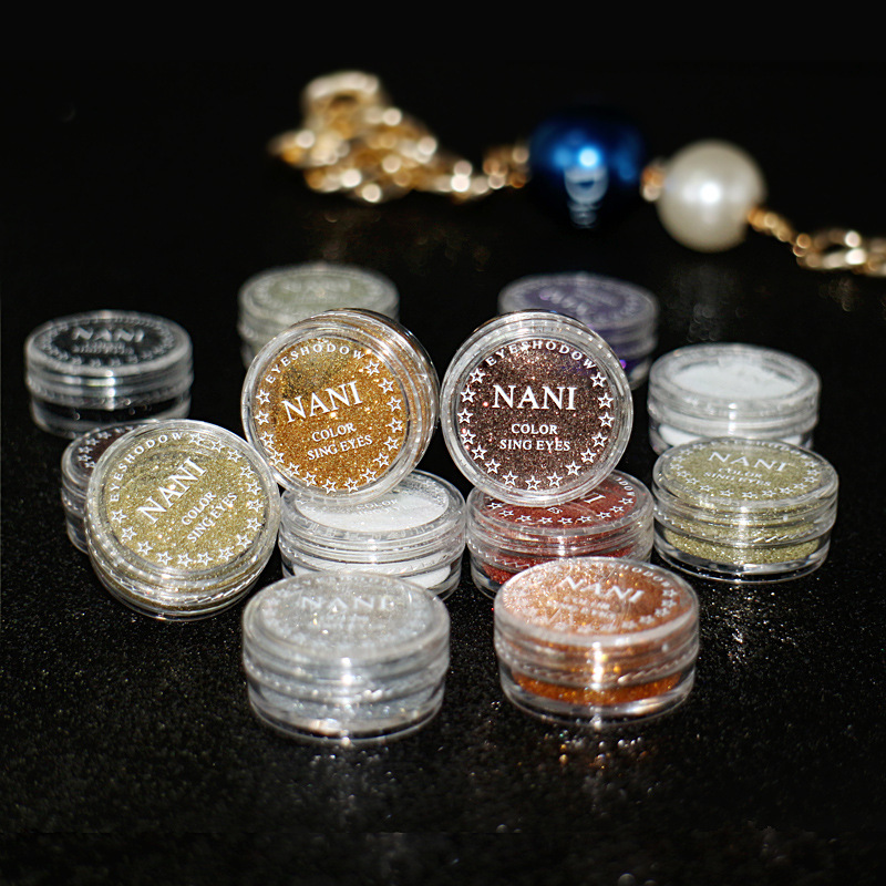24 Colors Brand Makeup Eye Shadow Flash Powder  Bright Pearl Shining Nude Pigment Mineral Shimmer Matt Shadows Make Up