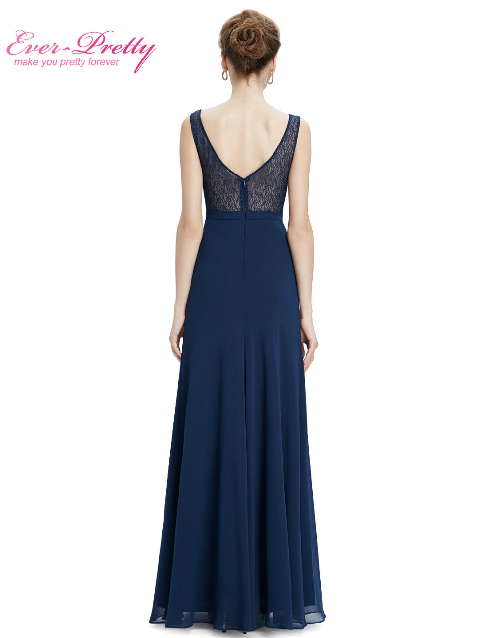 Mother of the Bride Dresses Ever Pretty HE08781NB Women s elegant round  neck long sleeveless Mother of the Bride Dresses-in Mother of the Bride  Dresses from ... ec56ae16ed80