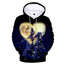 frdun tommy 3D kingdom hearts Sweatshirt Hoodies Men and women Hip Hop Autumn Streetwear Hoodies Sweatshirt For Couples Clothes(China)