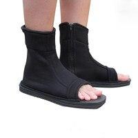 5PCS LOT Free Shipping High Quality Naruto Cosplay Shoes Konoha Black Blue Cosplay Ninja Boots Kakashi
