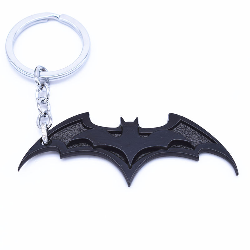 You are my superhero Handmade Batman Copper Bat Keychain Christmas Gift for Him