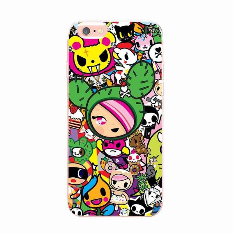 Tokidoki MaiYaCa Japão Japonês para iphone 6 6plus 7 7plus 8 8plus iphone caso Para Apple iphone 5 5s SE X XS XR XSMax caso de Telefone