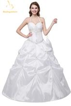 Casamento Frisado Vestidos Tafetá