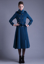 women jacket women winter coat New winter fashion Slim thick cashmere wool coat free shipping