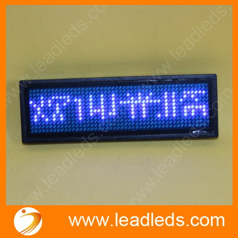 5sets/lot Blue ed sign / LED name badge sign Scrolling advertising/ name card show display tag/programmer5sets/lot Blue ed sign / LED name badge sign Scrolling advertising/ name card show display tag/programmer
