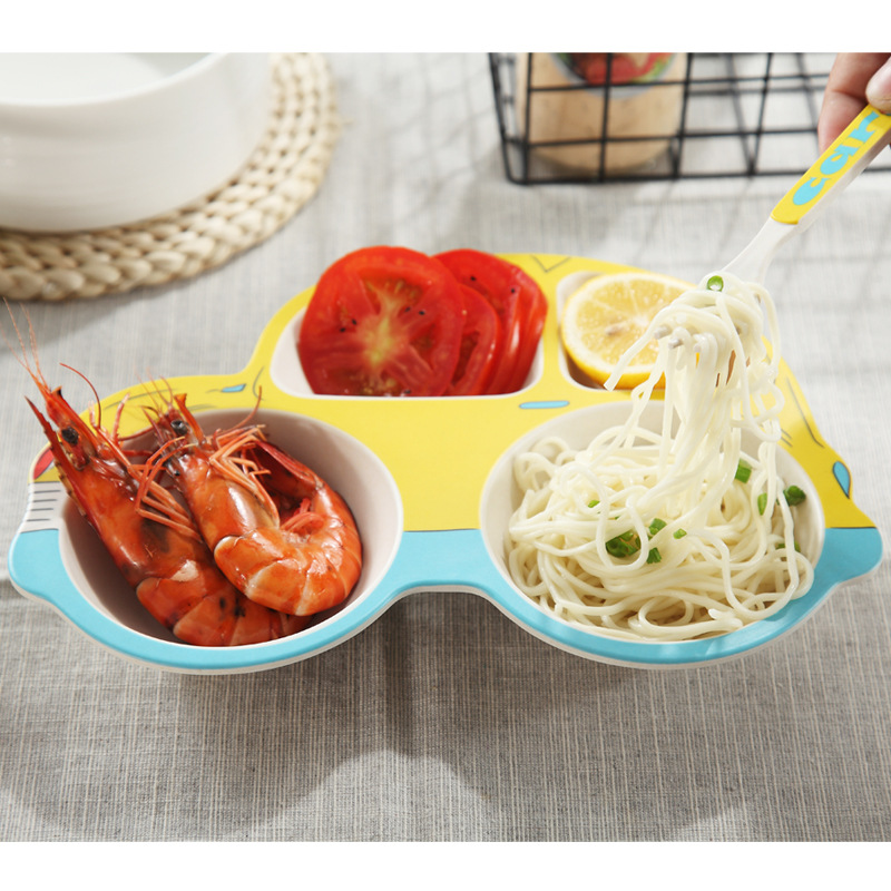 Bamboo Cartoon Bowl Set