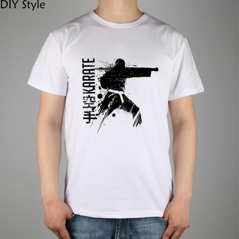 Blitz Karate Brazilian Jiu Jitsu font b T shirt b font Top Lycra Cotton Men T