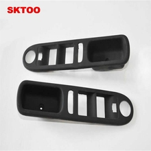 купить SKTOO Fit for Peugeot 307 left front lift switch bracket Elevator switch cover shell дешево